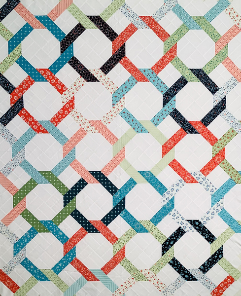 Friendship Chain: A Jelly Roll Quilt