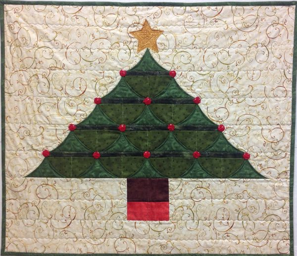Advent Calendar Tree Wall Hanging